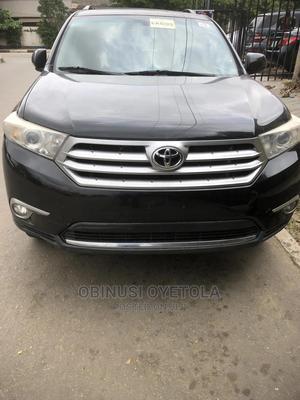 Toyota Highlander 2012 SE Black | Cars for sale in Lagos State, Ikeja