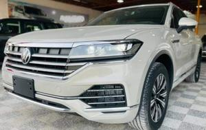 New Volkswagen Touareg 2021 White   Cars for sale in Abuja (FCT) State, Asokoro