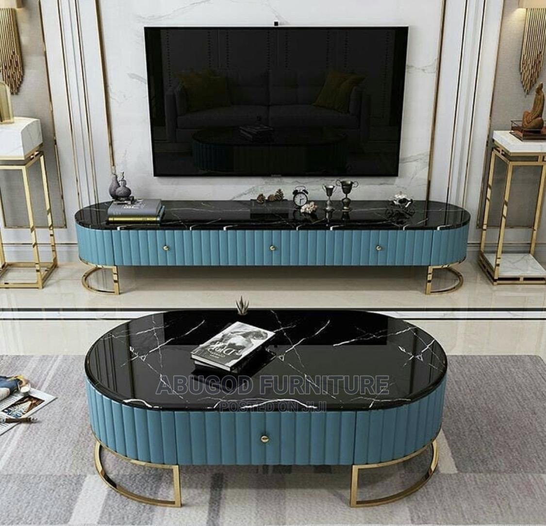 Center Table and Tv Stand