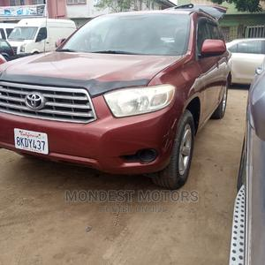 Toyota Highlander 2009 4x4 Red | Cars for sale in Lagos State, Alimosho