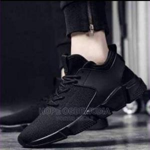 Casual Unisex Classic Sneakers Outdoor Shoes Canvas (Black)   Shoes for sale in Lagos State, Ikorodu