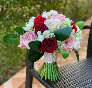 Luxury Bridal Bouquet Available for Delivery | Wedding Wear & Accessories for sale in Rivers State, Port-Harcourt