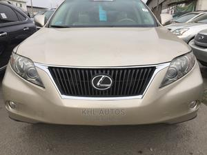 Lexus RX 2011 350 Gold | Cars for sale in Lagos State, Apapa
