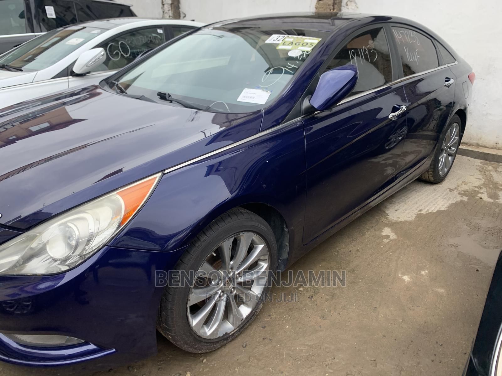 Hyundai Sonata 2011 Blue   Cars for sale in Ifako-Ijaiye, Lagos State, Nigeria