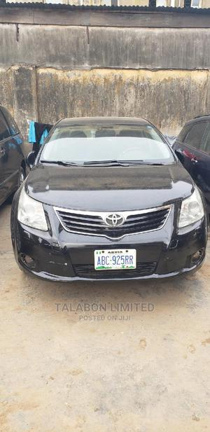 Toyota Avensis 2011 2.0 Advanced Automatic Black | Cars for sale in Lagos State, Mushin