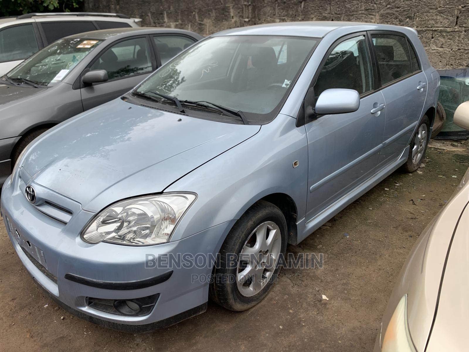 Toyota Corolla 2005 Verso 1.6 VVT-i Blue | Cars for sale in Abule Egba, Lagos State, Nigeria