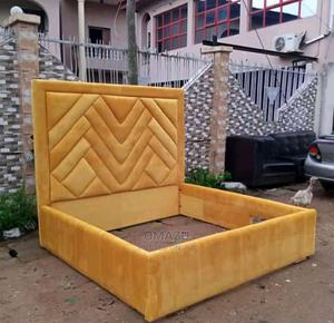 6 by 6 Upholstery Bed Frame | Furniture for sale in Lagos State, Ikeja