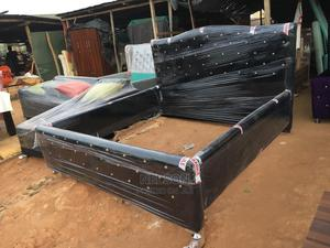 Black Quality Bed Frame for Sale | Furniture for sale in Lagos State, Ikeja