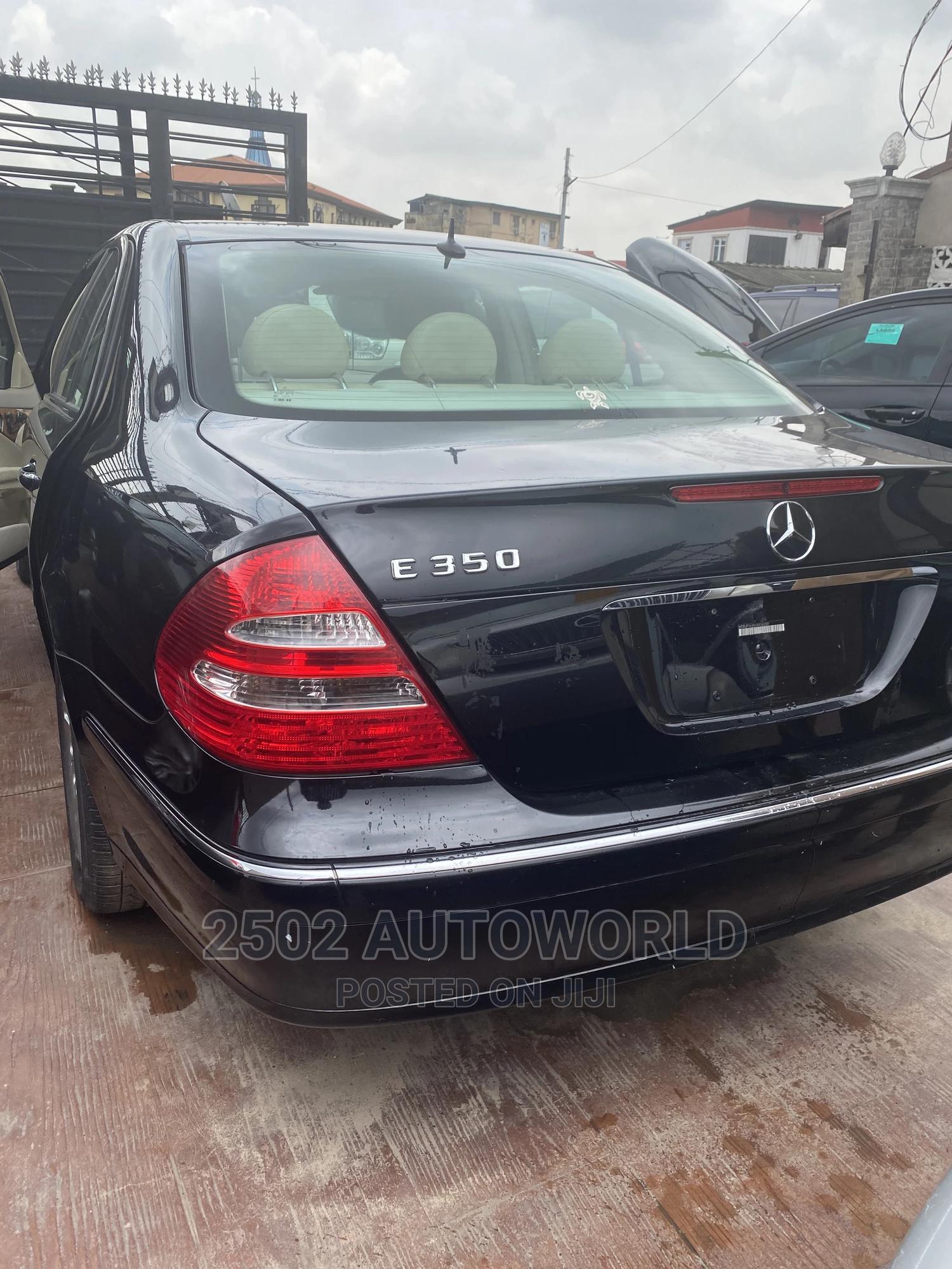 Mercedes-Benz E350 2008 Black | Cars for sale in Surulere, Lagos State, Nigeria