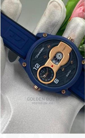 Diesel Rubber Double Clock | Watches for sale in Lagos State, Ikotun/Igando