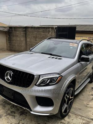 Mercedes-Benz GLS-Class 2019 GLS550 4MATIC Silver   Cars for sale in Lagos State, Lekki
