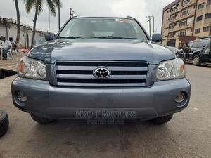 Toyota Highlander 2007 V6 Gray | Cars for sale in Lagos State, Ikeja