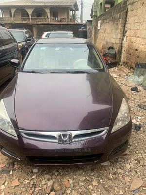 Honda Accord 2007 Sedan SE V-6 Automatic Brown | Cars for sale in Lagos State, Ikorodu