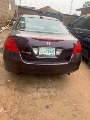 Honda Accord 2007 Sedan SE V-6 Automatic Purple | Cars for sale in Lagos State, Ikorodu
