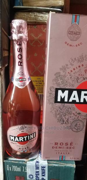Martini Rose Champagne by 1 | Meals & Drinks for sale in Lagos State, Lagos Island (Eko)