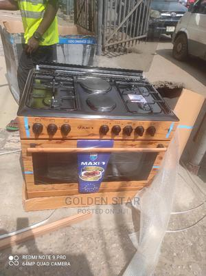 Super Cooker Maxi 4gas and 2 Electric Auto Ignition + Oven | Kitchen Appliances for sale in Lagos State, Ojo