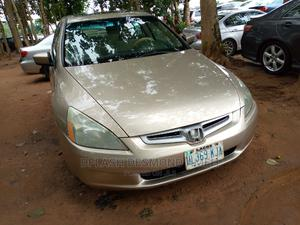 Honda Accord 2005 2.0 Comfort Gold | Cars for sale in Abuja (FCT) State, Lokogoma