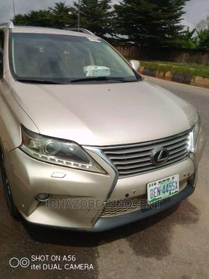 Lexus RX 2013 350 FWD Gold   Cars for sale in Edo State, Benin City
