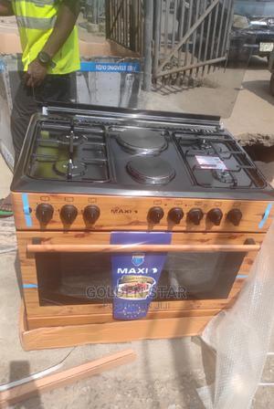 Brand New One Maxi 4gas and 2 Electric Auto Ignition + Oven | Kitchen Appliances for sale in Lagos State, Ojo