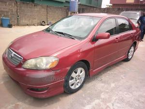 Toyota Corolla 2007 Red   Cars for sale in Lagos State, Ikorodu