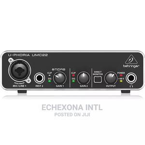 Behringer Umc22 Soundcard | Audio & Music Equipment for sale in Lagos State, Oshodi