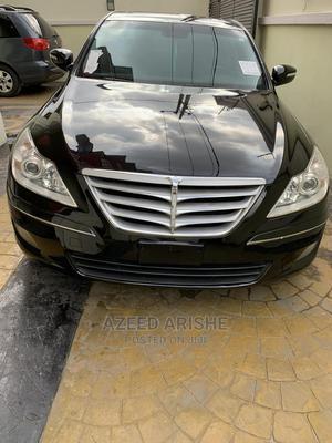 Hyundai Genesis 2009 3.8L Black   Cars for sale in Lagos State, Surulere