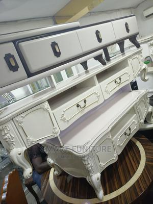 Imported Executive Glass Top Center Table With TV Stand | Furniture for sale in Lagos State, Victoria Island