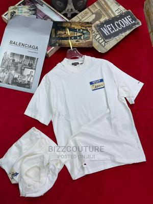 High Quality BALENCIAGA White T-Shirts Available for Sale | Clothing for sale in Lagos State, Ikoyi