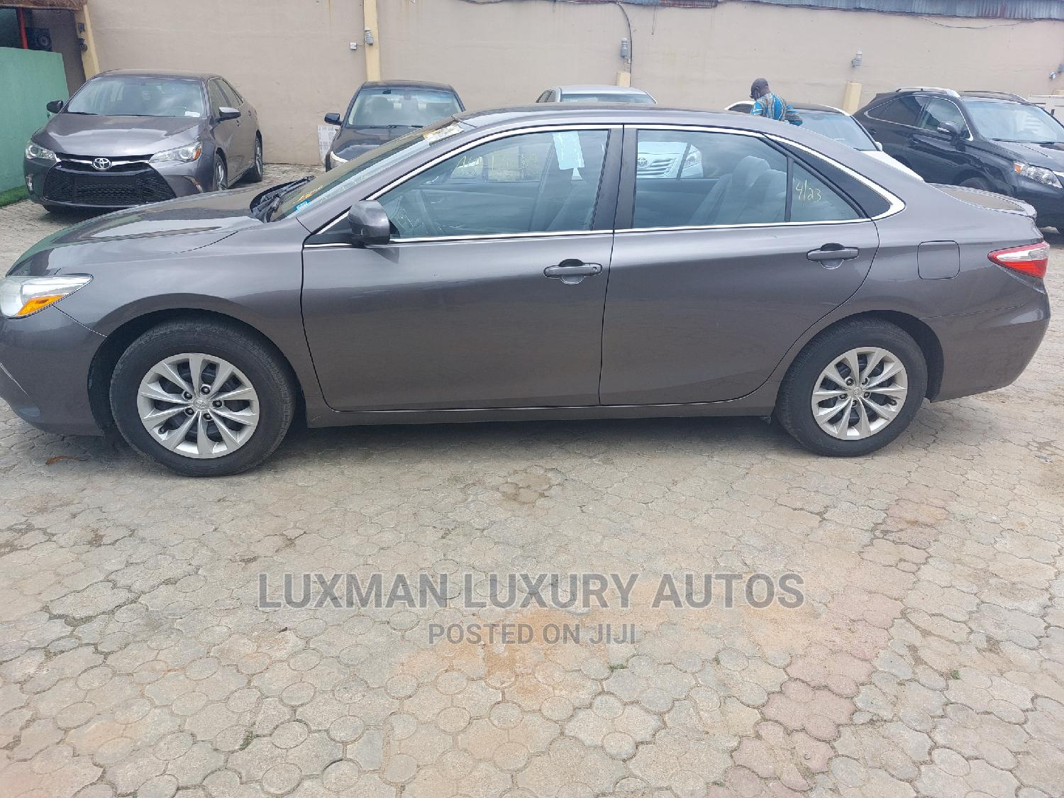 Toyota Camry 2015 Gray | Cars for sale in Ikeja, Lagos State, Nigeria