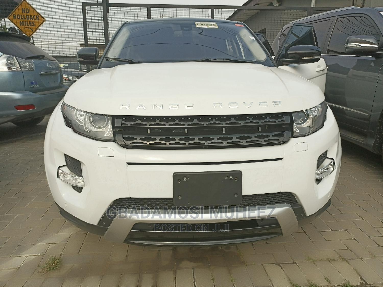 Land Rover Range Rover Evoque 2012 White