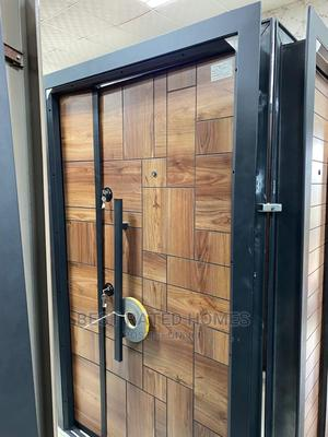 4ft Luxury Security Entrance Door (Payment on Delivery)   Doors for sale in Lagos State, Amuwo-Odofin
