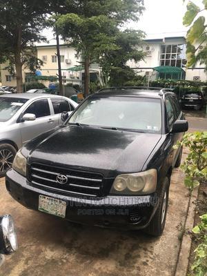 Toyota Highlander 2004 V6 FWD Black   Cars for sale in Abuja (FCT) State, Galadimawa