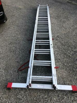 12x3 Extension Aluminium Ladder. 12*3 Multi-Purpose Ladder | Hand Tools for sale in Lagos State, Ojo