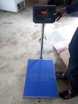 300kg Stainless Steel Platform Scale With A12E Indicator   Store Equipment for sale in Lagos State, Lagos Island (Eko)