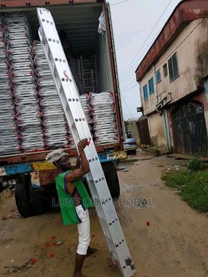 13x3 Extension Multipurpose Aluminium Ladder 3section Ladder | Hand Tools for sale in Lagos State, Ojo