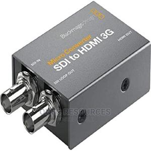 Blackmagic Design Micro Converter SDI to HDMI 3G (With Power | Computer Hardware for sale in Lagos State, Ikeja