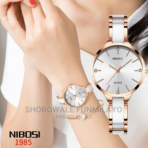 Nibosi Female Wristwatch, Women Wristwatches, Gold and White   Watches for sale in Lagos State, Surulere