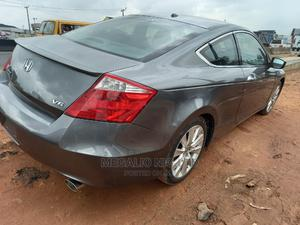 Honda Accord 2010 Coupe EX-L V-6 Automatic Gray | Cars for sale in Lagos State, Ikeja