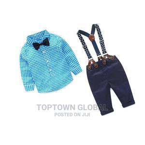 Boys 1-2 Years Birthday/Party Shirt and Trousers Set   Children's Clothing for sale in Lagos State, Amuwo-Odofin