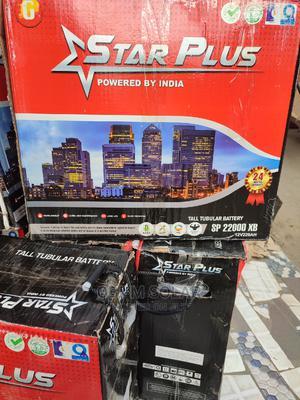 220ah/12v Star Plus Tubular Battery | Solar Energy for sale in Lagos State, Ojo