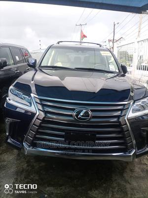 Lexus LX 2017 570 (5 Seats) AWD Blue | Cars for sale in Lagos State, Victoria Island