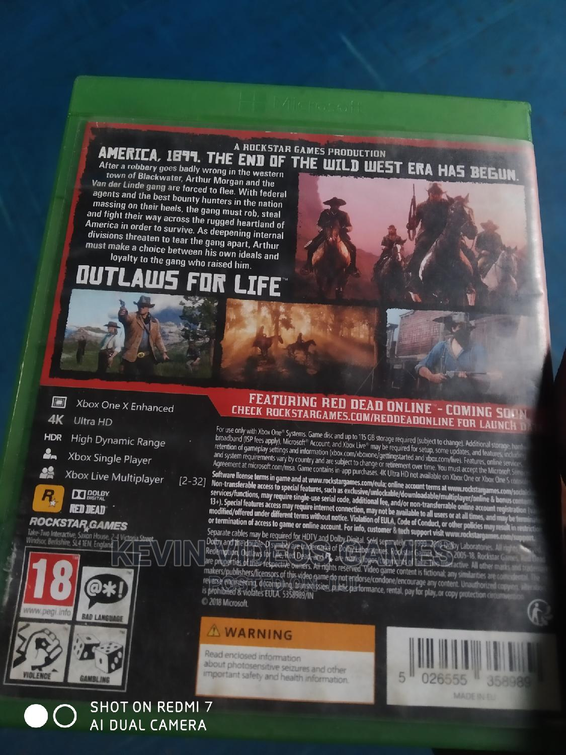 Xbox One Red Dead Redemption 2 | Video Games for sale in Benin City, Edo State, Nigeria