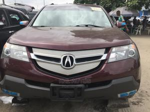 Acura MDX 2008 SUV 4dr AWD (3.7 6cyl 5A) Purple   Cars for sale in Lagos State, Apapa