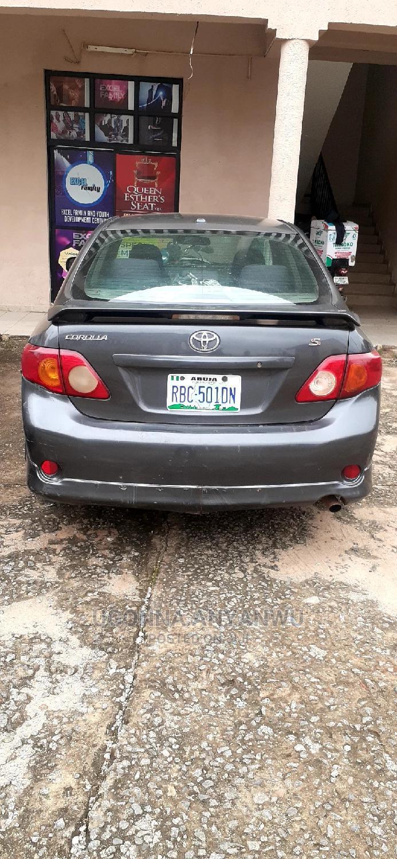Toyota Corolla 2008 Gray | Cars for sale in Gwarinpa, Abuja (FCT) State, Nigeria