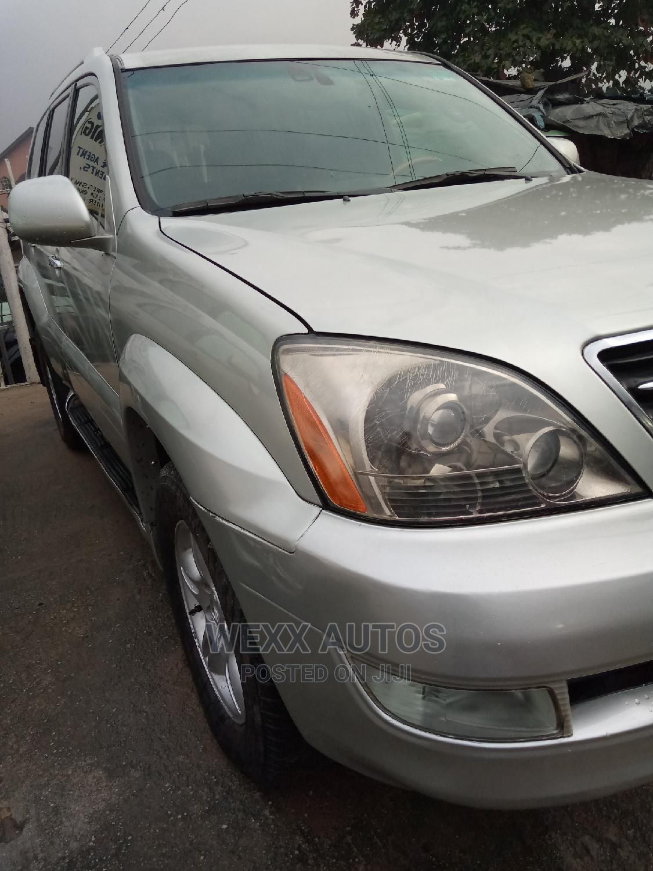 Archive: Lexus GX 2003 470 Silver