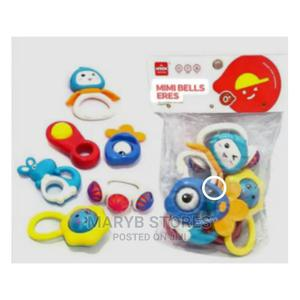 New Born Baby Rattle 6 in 1 With Teether - Multicolour   Toys for sale in Lagos State, Surulere