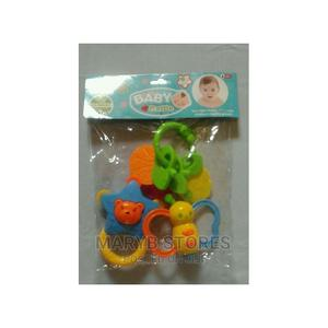 Colorful Baby Rattles Baby 3 in 1 Rattle Toy With Teether | Toys for sale in Lagos State, Surulere