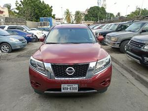 Nissan Pathfinder 2016 SL 4dr 4x4 (3.5L 6cyl) Red | Cars for sale in Lagos State, Amuwo-Odofin