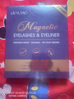 Magnetic Eyelashes and Eyeliner   Makeup for sale in Lagos State, Ajah