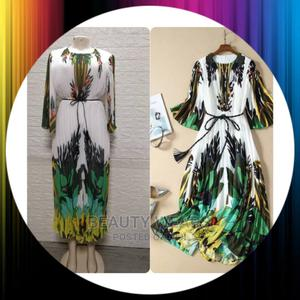 Quality Printed Female Long Gown   Clothing for sale in Lagos State, Ikeja